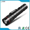 China JFF63 Portable Zoomable AA/14500 Battery LED Mini Flashlight for sale