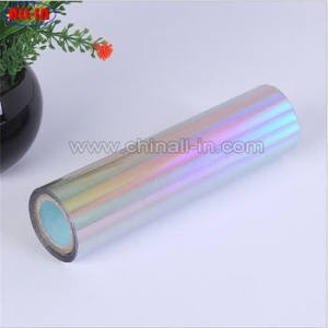 China rainbow holographic hot stamping foil paper printing on sale