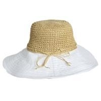 China 1358 - Straw / Poly Ladies Hat on sale