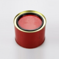 Supply printing tinned matte tinplate iron tea biscuits gift ice bucket beverage cans tin cans