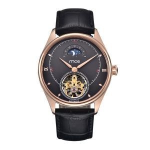 China Customize Logo Rose Gold Mechanical Automatic Watch on sale