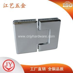 China Shower enclosure solid brass fitting glass shower hinge on sale