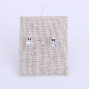 China Charm Bird Zircon Stud Earring on sale