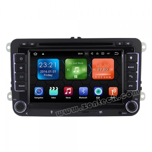 China Zonteck ZK-7148V VW Android 8.1 Car Radio Stereo System GPS Navi on sale