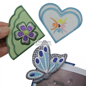 China Embroidery Corner Bookmarks supplier