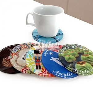 China Acrylic Coasters on sale