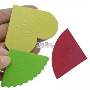 China Custom embossed leather bookmarks on sale