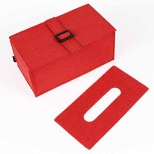 China Felt Eco-friendly removable tissue box with CE on sale