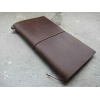 China Leather Travellers Notebook similar Midori Travellers Notebook for sale