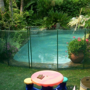 China Ultra Mesh Pool Fence on sale