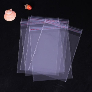 China Clear Poly Opp Bag Cellophane Self Adhesive Bag/Strong Sealing Self Adhesive Bag on sale