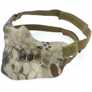 China Tactical Half Face Mask for airsoft paintball on sale