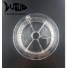 China Deep Sea Fishing Line Spool Clear Fishing Accessories Customized Empty Plastic Spool for sale