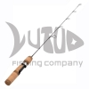 China 2017 30 Inches China Carbon Lure Ice Fishing Rod Medium and Medium Light Power for sale