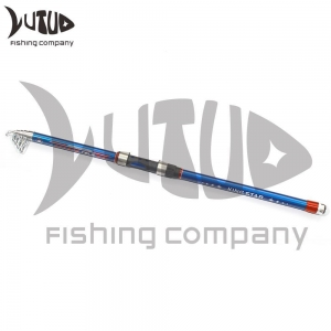 Quality Saltwater Casting Spinning Rods Carbon Fiber Telescopic Fishing Rod for sale