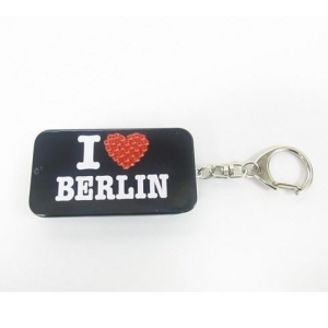 China Bling Bling Slider Tin Box with Keychain on sale