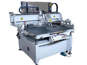 China Vertical flatbed screen printing machine on sale