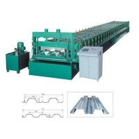 China Floor Decking Forming Machine Roof Tile Roll Forming Machine on sale