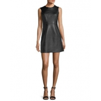 Rag & Bone Loxley Sleeveless Leather Mini Dress Women Apparel