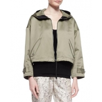 Rag & Bone Randi Cropped Shimmery Cotton Jacket Women Apparel