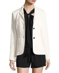 China Rag & Bone Redgrave Two-Button Blazer Cream And Matching Items Women Apparel Jackets on sale