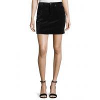 Rag & Bone/jean Dive Velvet Mini Skirt Women Apparel Skirts