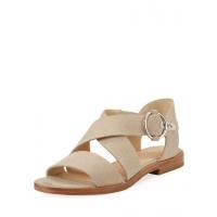 Rag & Bone Brie Flat Canvas Sandal Cream Women Shoes