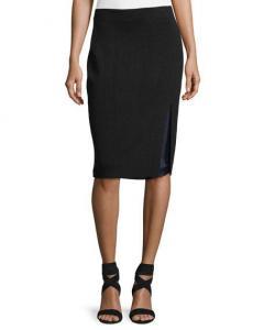 China Rag & Bone Alyssa Double-Layer Knit Pencil Skirt Women Apparel Skirts on sale