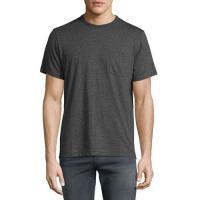 Rag & Bone Standard Issue Pocket T-Shirt Pewter Men Apparel Polos & T-Shirts