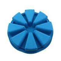 China Flexible Silicone Handmade DIY Cake Soap Molds on sale