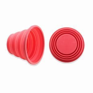 China Collapsible Silicone Kitchen Measuring Cup on sale