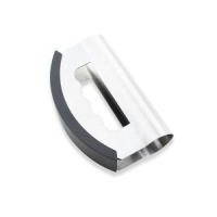 China Double Blade Stainless Steel Herb Cutter Knife Chopper on sale