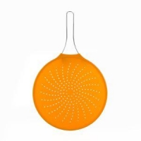 China Silicone Colander Foldable Strainer Kitchen Tools on sale