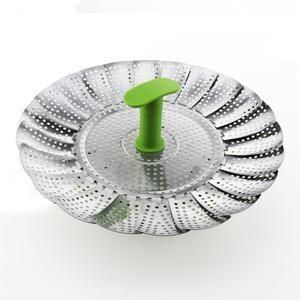 China Stainless Steel Vegetable Steamer on sale