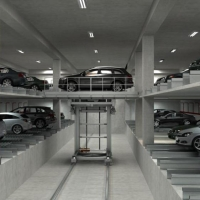 MAOYUAN SINGLE CART ROBOTIC CAR PARKING LIFT SYSTEM SLOUTIONS