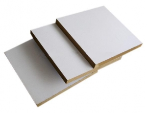 China Titanium White Melamine MDF on sale