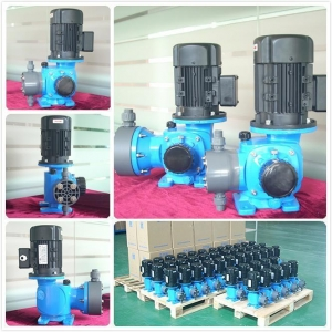 China High Temperature Peristaltic Chemical Acid Metering Pump on sale