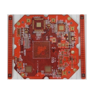 China HDI PCB 8 layers impedance PCB with red soldermask on sale