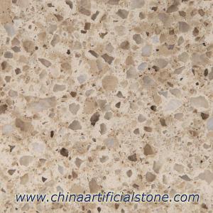 China Multicolor Quartz Stone Bamboo Green QM106 on sale