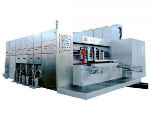 China Corrugated carton printing press on sale