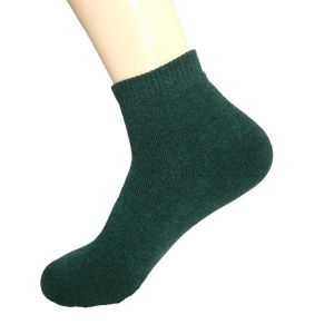 China Plain Cotton Running Socks on sale