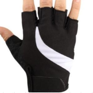 China New Soft mesh fabric Comfortable 4 SIZE Half Finger Gloves on sale