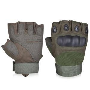 China Synthetic Leather Hard knuckle Protective Police Gloves on sale