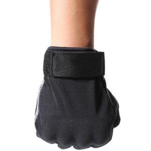 China camouflage spring tactical gloves with half finger on sale