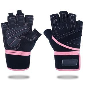 China Aduluts Half Finger Fitness Protective Gloves on sale