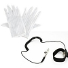 China white double side anti-static gloves clean room gloves for sale