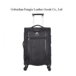 China OEM Logo Nylon Fabirc 3pcs Rolling Trolley Luggage on sale