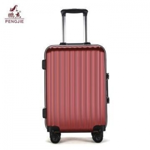 China 20'' 24'' new design abs aluminum frame luggage on sale