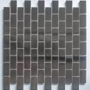 China silver stainless steel mosaic subway brick mosaic tile for backsplash wall decor on sale