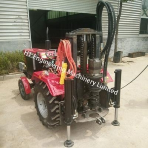 China 2018 Tractor Mounted Water Well Drilling Rig on sale